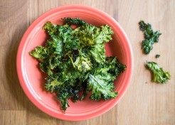 Sauted Kale with Mushrooms and Roasted Garlic for Baby