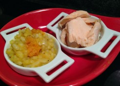 Make Baby Food From Family Dinner: Poached Dill Salmon