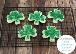 St. Patrick's Day Frosted Shamrock Cookie Recipe