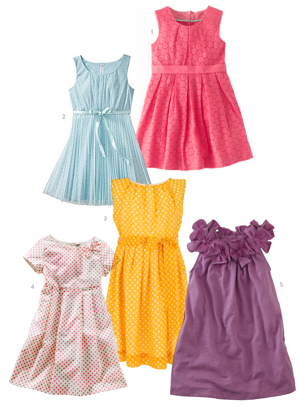 Easter Dress Picks from The Kids' Dept. for Momtastic.