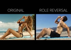 [VIDEO] Sexualizing Men in Ads. It's Ridiculous.