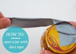 [VIDEO] Life Hack: How To Open Jars with Tight Lids