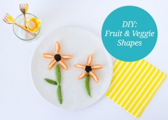 DIY Fruit and Vegetable Shapes