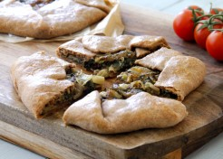 Meatless Monday: Greens Crostata Recipe