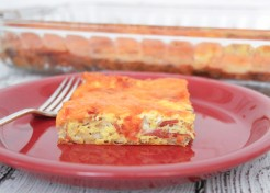 Breakfast Egg Bacon and Hash Brown Casserole Recipe