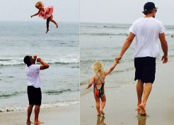 """Jessica Simpson's Daughter Maxwell """"Flies"""" in a New Pic"""