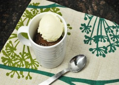 Quick Microwave Cake in a Mug Recipe