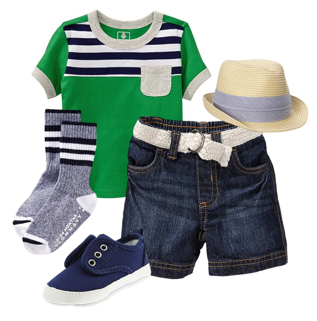 Baby Boy Outfit Picks from Old Navy