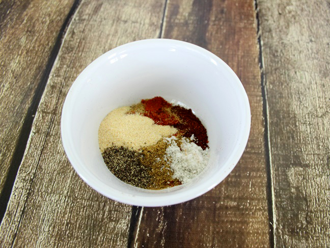 southwest bbq rub recipe step a