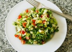 Meatless Monday: Farmers Market Chopped Salad Recipe