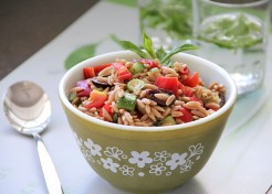 Meatless Monday: Chopped Mediterranean Salad with Orzo Recipe