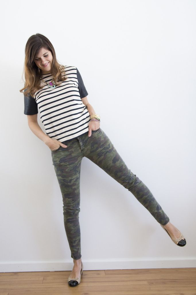 camoflauge-jeans-striped-top-easy-style