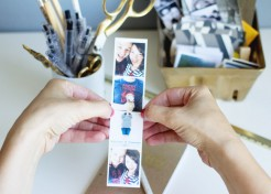[FREE TEMPLATE] Turn Cell Phone Photos into Faux Photo Booth Pictures
