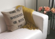 DIY Quote Pillows