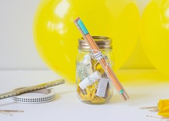 DIY Back-to-School Party in a Mason Jar