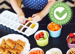 Throw a Yummy, First Day of School Dipping Dinner Party