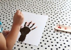 DIY Fall Tree Handprint Art for Kids