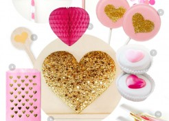 Pink and Gold Party Inspiration: My Funny Valentine