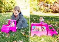 Making Memories with the Barbie Camper