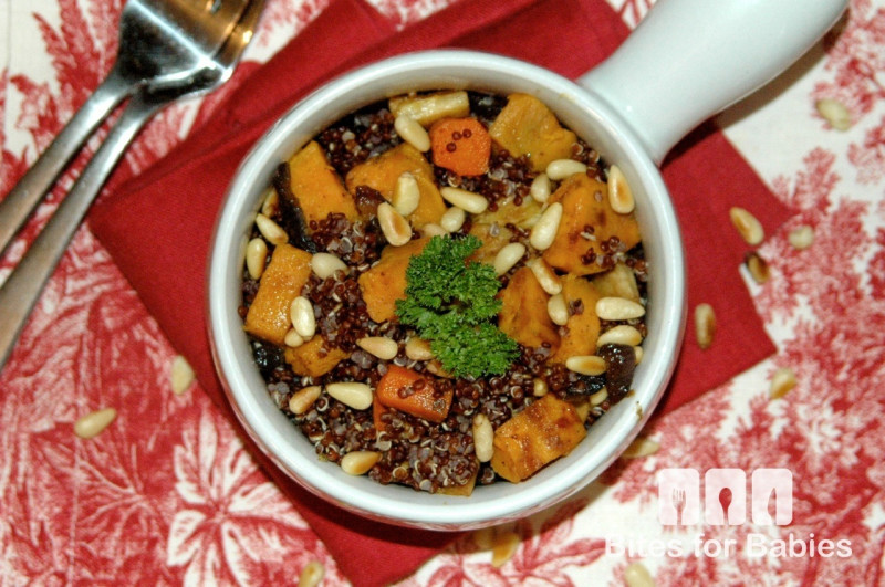 roasted root vegetable quinoa salad