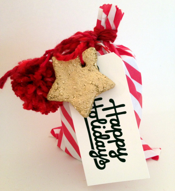 salt dough ornament DIY   from Oh Lovely Day