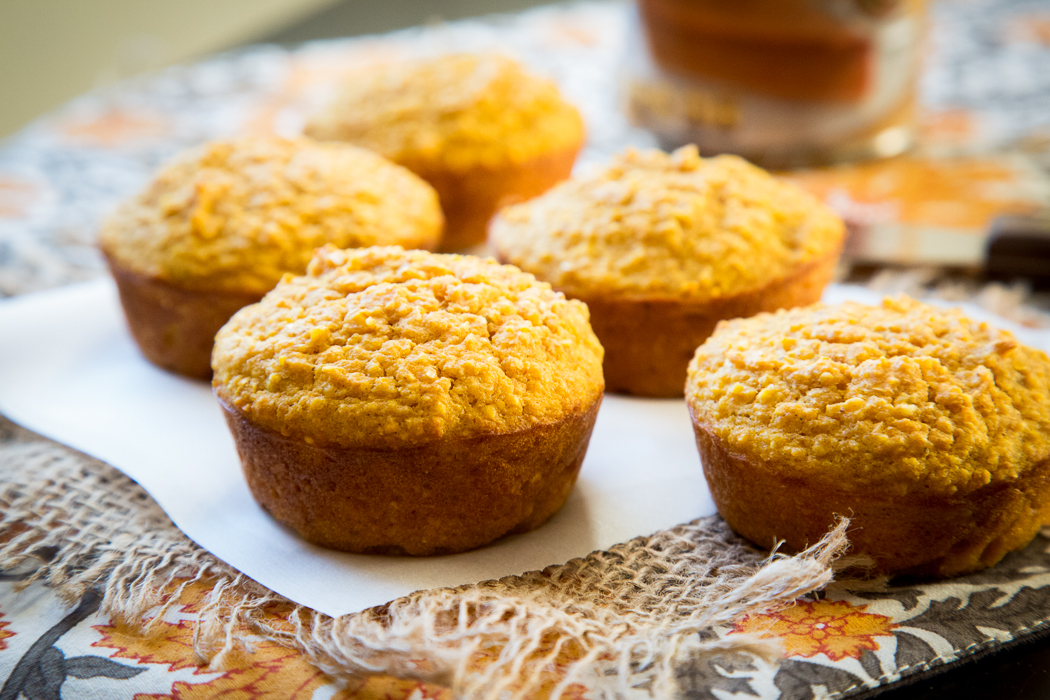 Not too sweet and not quite savory, these maple pumpkin corn muffins ...