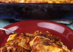 Make-Ahead Lasagna Roll Ups (A Lightened-Up Recipe for the New Year)