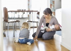 I'm a Stay-at-Home Mom, Not a Cleaning Person