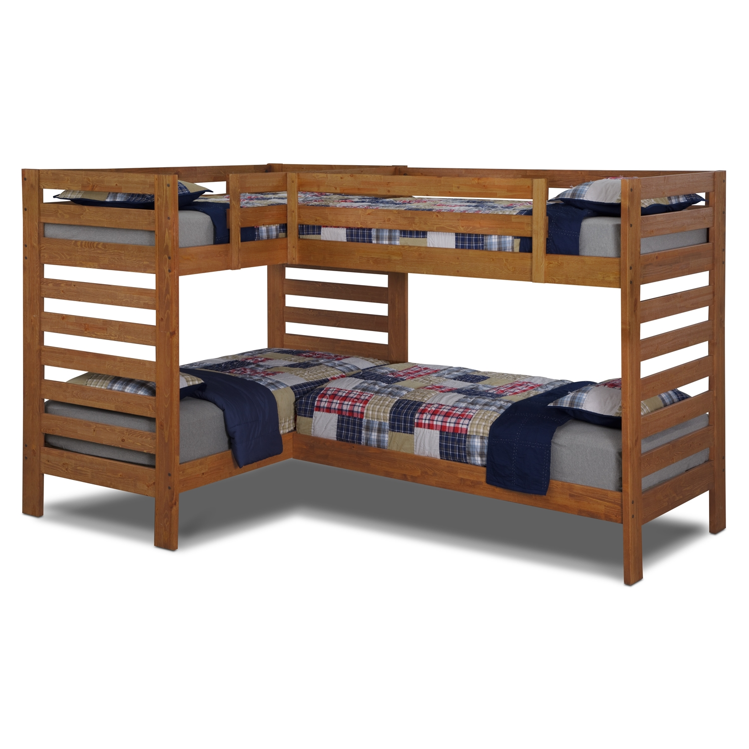 Brotherly love how to decorate a bedroom for two boys for Furniture 123 bunk beds