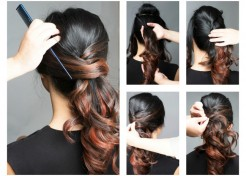 Create a Fast and Flirty Ponytail