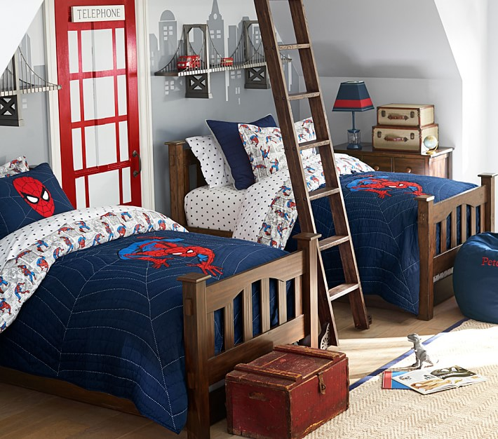 Brotherly Love: How To Decorate A Bedroom For Two Boys