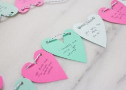 "DIY Valentine's Day ""Heart Attack"" Garland"