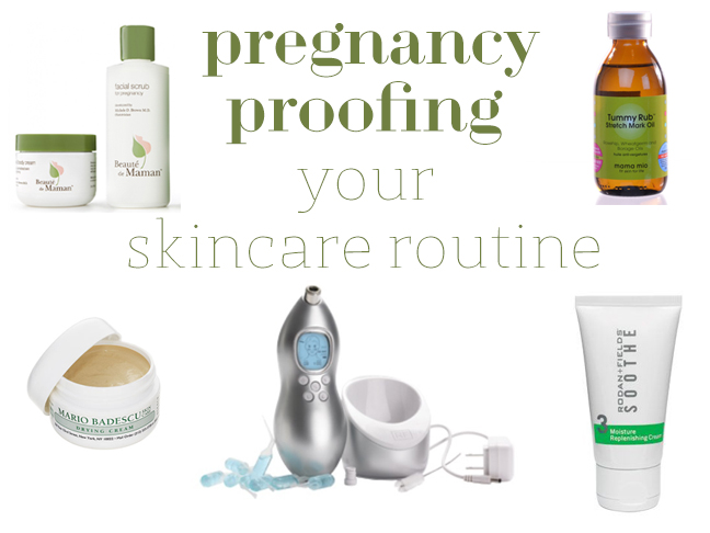 Pregnancy Proofing Your Skincare Routine | Chandra Fredrick for Momtastic