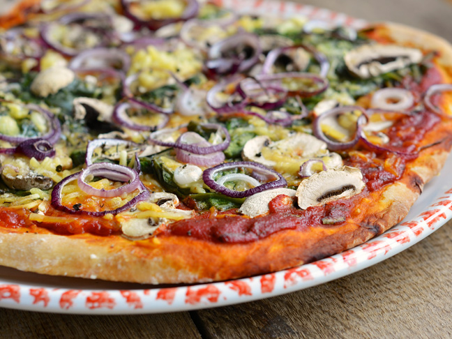 Moms: Instead of Cutting Back on Pizza, Let's Make it Vegan