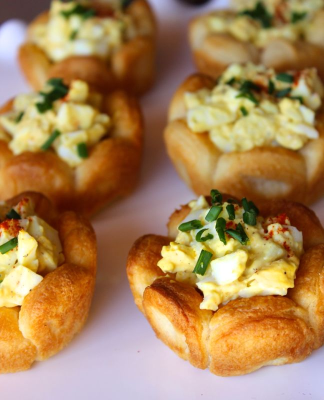 egg-salad-cups-puff-pastry-dough-flower-easter-food-snack-kid-friendly