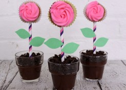 DIY: Flower Pot Dirt Cake Recipe