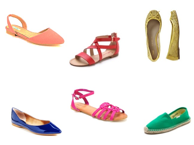 mom style how to-bright colored shoes