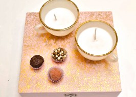 How To Make Teacup Candles: Fresh Baby Shower Idea