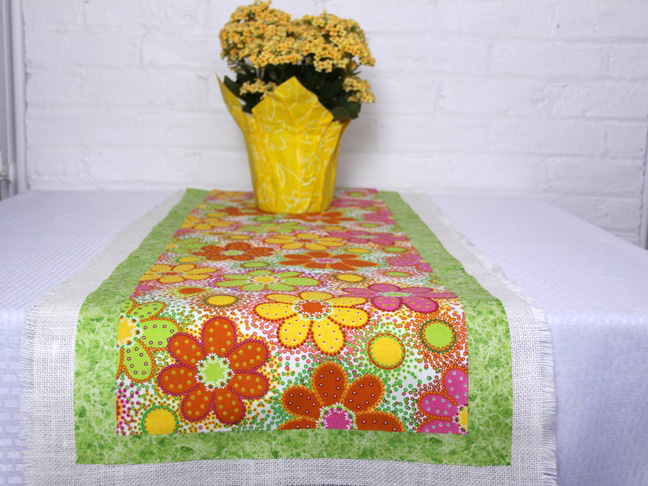 spring table runner final 2