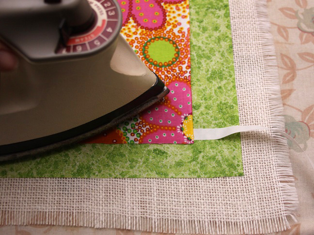 spring table runner step 8