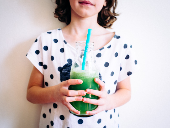 the green juice my kid loves by hipster mum