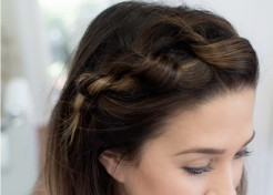 (PHOTOS) How to Master the Knotted Braid