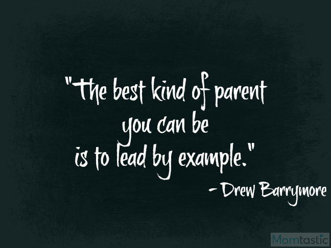 40 amazing quotes on parenthood via @ItsMomtastic featuring Drew Barrymore