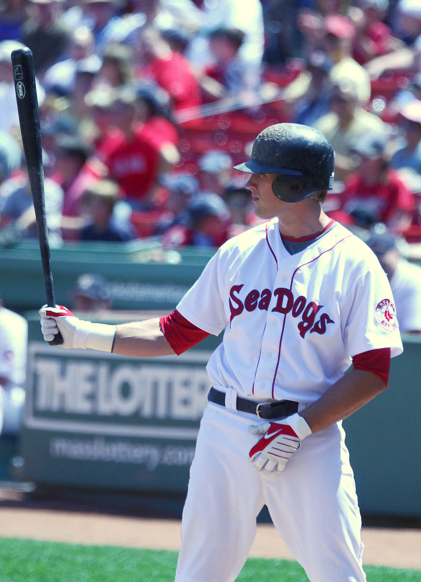 Lars_Anderson_on_August_8,_2009,_Futures_at_Fenway