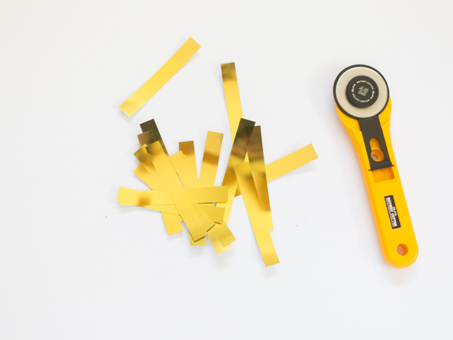 gold-foil-strips-rotary-cutter