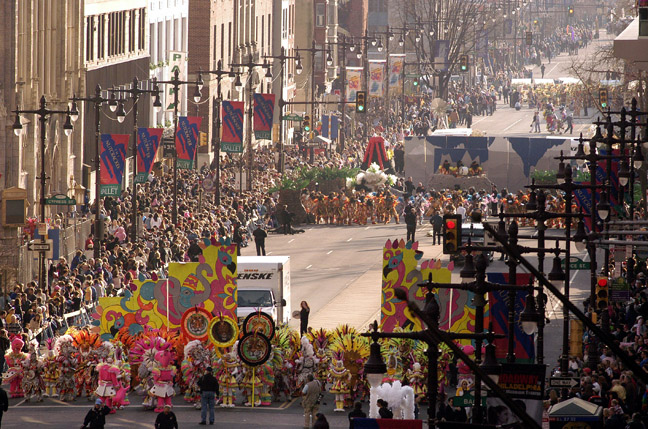 Annual Mummers Parade Rings In New Year