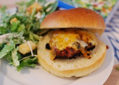 Ranch Spiced Turkey Burger Recipe
