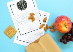 [FREE PRINTABLE] DIY Printable School Lunch Mad Libs
