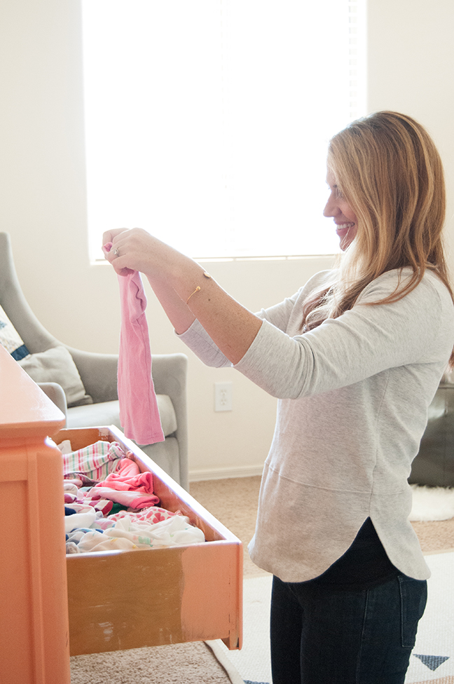 be1e5f89 Brilliant Tips for Sorting, Storing & Donating Old Baby Clothes
