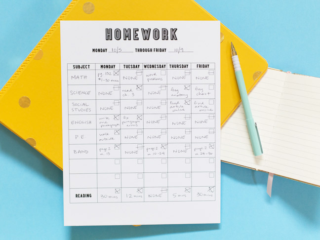 printable-homework-chart-yellow-binder